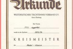 1974 Kreismeister M_del