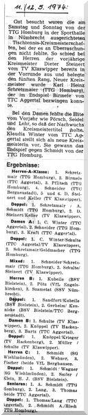 012 - 1974-05-11 Kreismeisterschaft