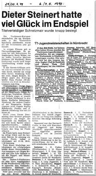 023 - 1978-04-29 Kreismeisterschaft