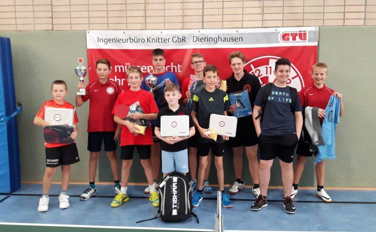 Yannick Werner und John Bauser heißen die neuen Titelträger bei den diesjährigen Nachwuchsclubmeisterschaften